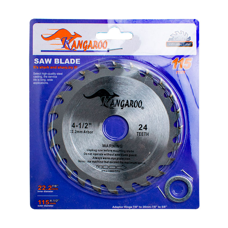 DISCO -MULTIMARCA- 4 1/4 (4 1/2)- x 24dMADERA TUNGSTENO
