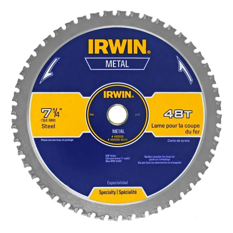 "DISCO - IRWIN - 7.1/4"" 48d TUNG MAD 363017LA."