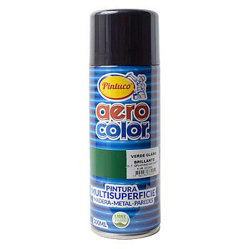 AEROCOLOR LACA BRILLANTE VERDE CLARO300ml 125078-8