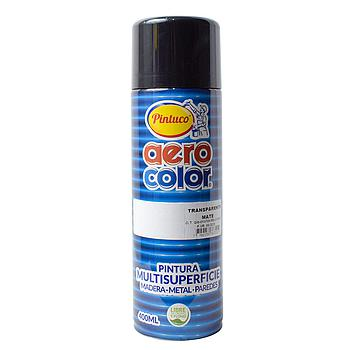 AEROCOLOR LACA MATE TRANSPARENTE 400ml125058-16(12)